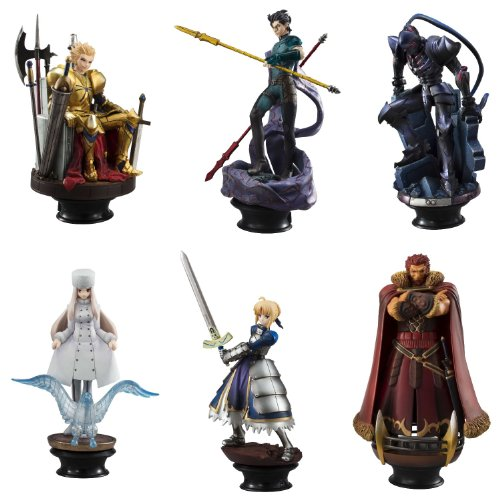 Zero Collection - Chess Piece Collection R - Fate/Zero (6pcs) (PVC Figure) by Megahouse
