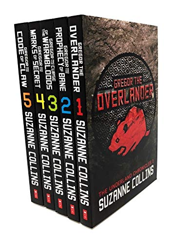 Suzanne Collins The Underland Chronicles 5 Books Set (1-5) Gregor The - Games Series Hunger