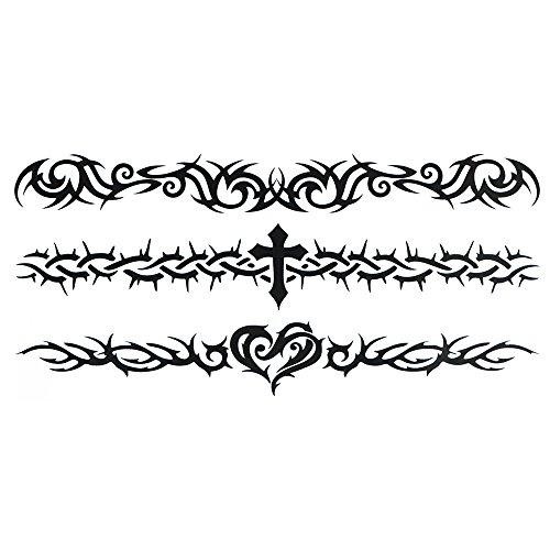 COKOHAPPY Temporary Tattoo , Cross
