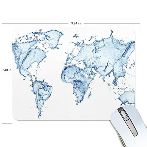 Mouse Pads,Map of The World Copy Abstract High Definition Premium Textured Mouse Mat Pad, Non Slip Rubber Base Mousepad for Gaming,Computer,Laptop