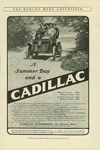 A Summer Day and a Cadillac Model A Tonneau ad 1904