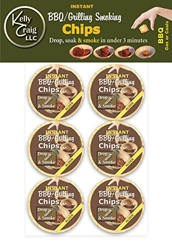 Kelly Craig 6-Pack BBQ Grilling Cookies, Alder by Kelly Crai