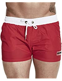 Men's Swim Trunks Beach Shorts with Pockets