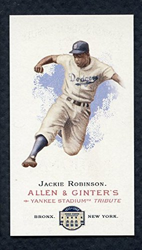 2008 Topps National Convention 1888 Allen & Ginter Jackie Robinson Card Kit Young Cards