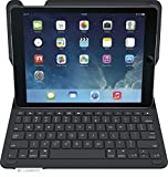 ipad air keyboard case logitech - Logitech Type+ Protective Case with Integrated Keyboard for iPad Air, Carbon Black -(Certified Refurbished)