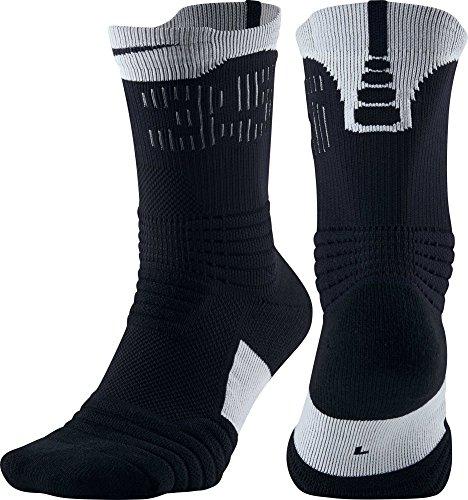 Nike KD Versatility Crew Socks (Black, XL)