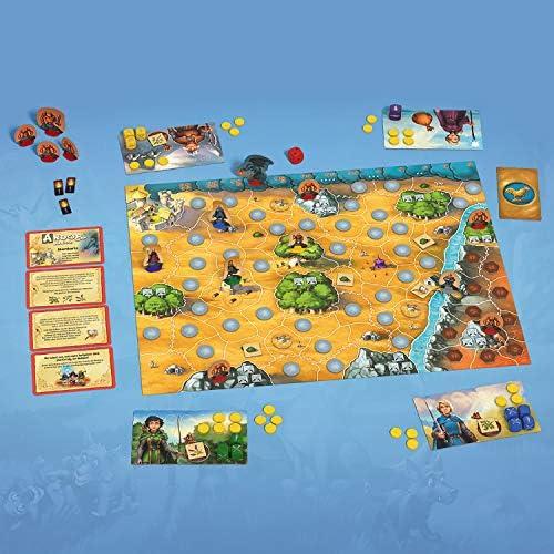 Kosmos Andor Junior, Haltet zusammen und beschützt das Land Andor, kooperatives Kinderspiel ab 7 Jahren für die ganze Familie, Fantasy-Abenteuer