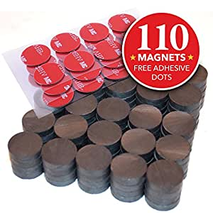 Amazon Com Hold True Ceramic Round Disc Magnets 110 Pcs