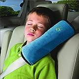 pink batman seat covers - YJSBIZ Seatbelt Pillow, Car Seat Belt Covers Kids, Adjust Vehicle Shoulder Pads, Safety Belt Protector Cushion, Headrest Neck Support for Child Baby Kid (Blue)