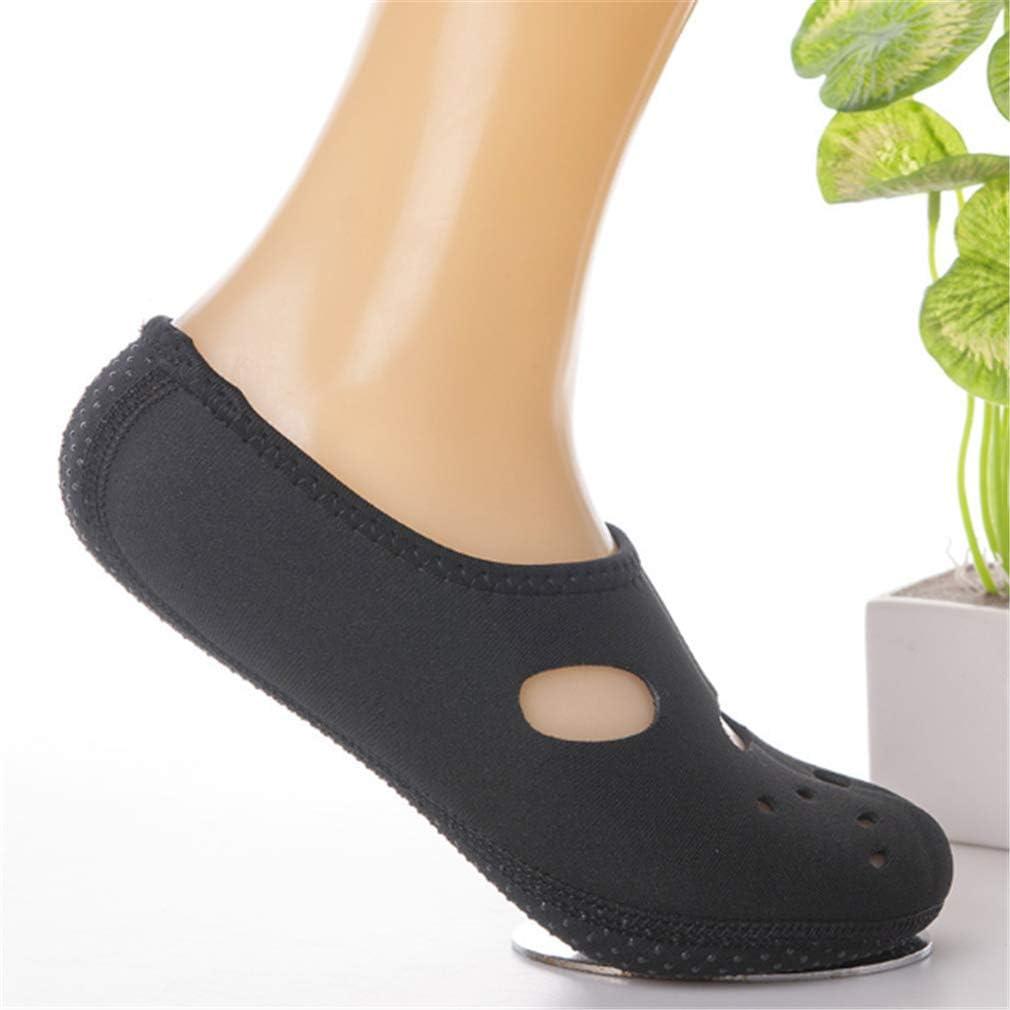 Losoul Wassersocken 3 mm frei Wasser Haut Schuhe Low Top Tauchen Schnorcheln Neopren Strandsocken f/ür Unisex XL 40-43