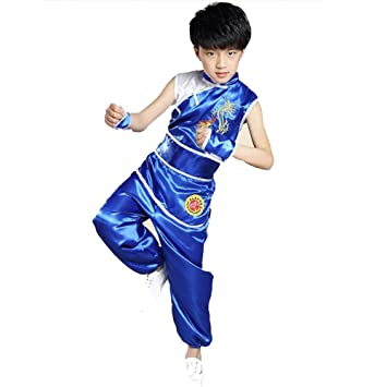 AMhuui Ropa de Tai chi Ropa China para niños, Traje de ...