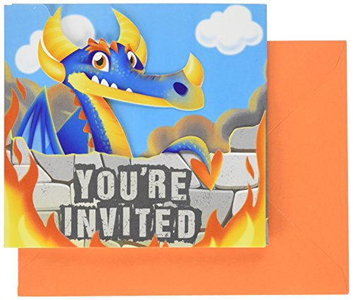 (8-Count Party Invitations,)