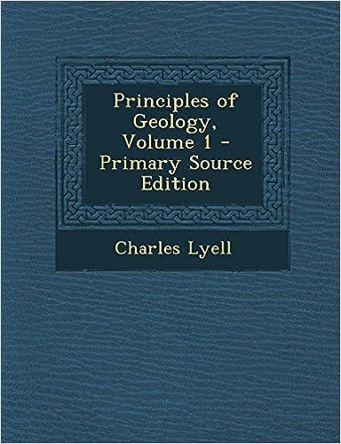 Kostenlose Bücher im PDF-Format zum Download Principles of Geology, Volume 1 - Primary Source Edition FB2 1295827808