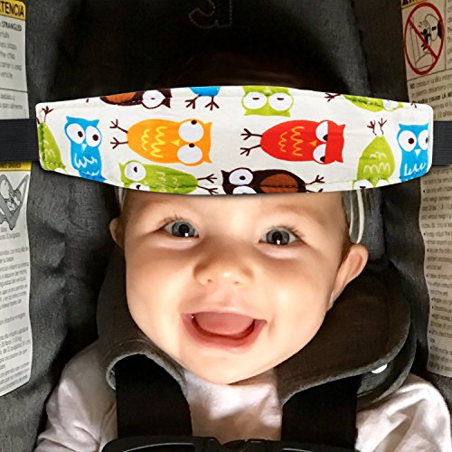 Pack Of 2 Baby Kids Safety Head Support Band And Toddler Car Seat Neck Relief