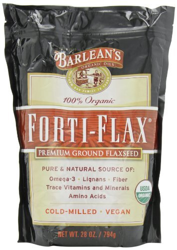 Barlean's Organic Oils Forti-Flax Flaxseed Supplements, 28 Ounce (Pack of 3)