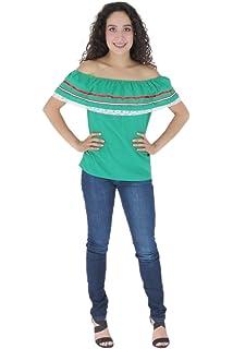 b4a00835ba5 Amazon.com  Mexican Clothing Co Baby Girls Mexican Fiesta Blouse ...