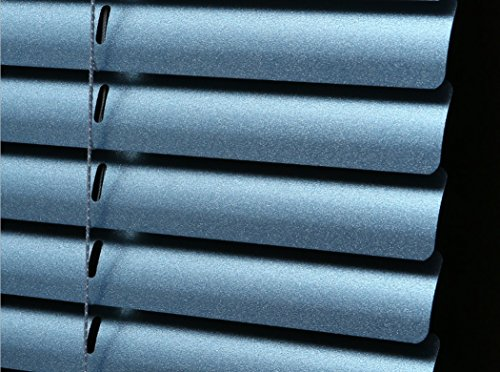 - PASSENGER PIGEON Horizontal Window Blinds, Superior Blackout 1 Inch Slats, Metallic Blue Blind-Custom Size (Please Contact Customer Service for Price)