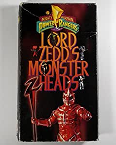 Lord Zedd's Monster Heads [VHS]