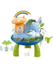 deAO sprookjestuinhuis- magische tutspeelset voor kinderen met graszaad en plantenaarde