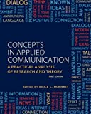 Concepts in Applied Communication, McKinney, Bruce C., 1621312984