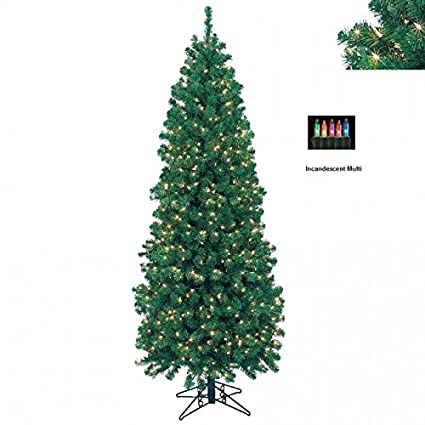 barcana 7ft northern cypress with clear lights - Barcana Christmas Trees
