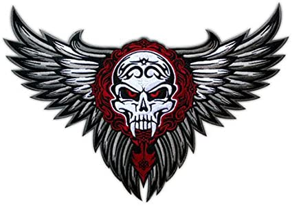 Inked For Life Bikers Embroidered Patch Badge Tattoo