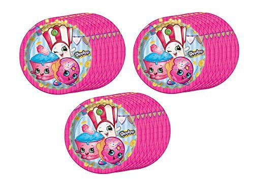 Shopkins Dessert Plates  by BirthdayExpress
