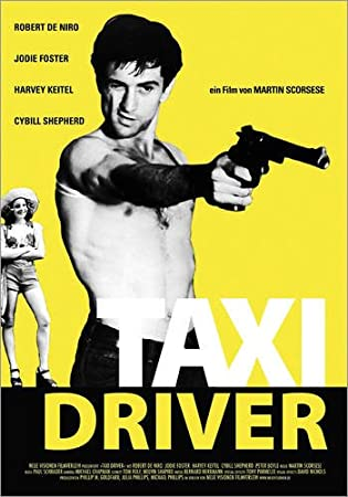 Posterlounge Alu Dibond 30 x 40 cm: Taxi Driver