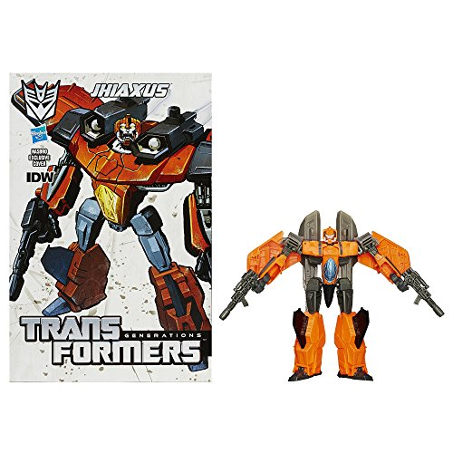 Transformers Generations Deluxe Class Jhiaxus Figure