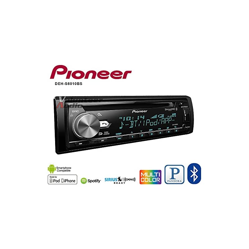 Pioneer DEH-S6010BS CD Receiver with Bui