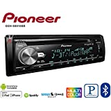 Volunteer Audio Pioneer DEH-S6010BS Car Stereo Double Din Radio with Bluetooth, Sirius XM, CD Player