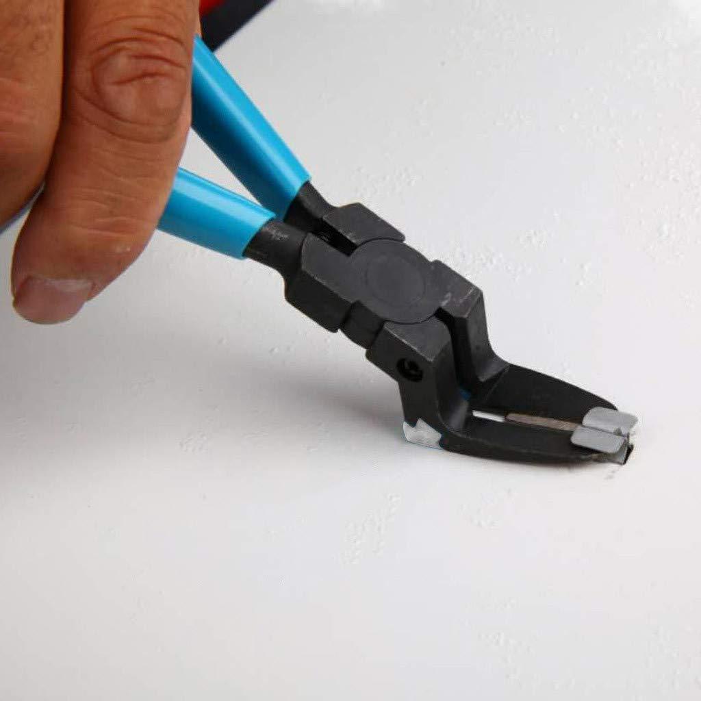 Bleu Pince De Dessin Outil Porte-Outil De Fixation Caisse A Outil Outillage Mecanique Auto KERULA Retenue De Pouss/ée De Rivet De Voiture Outil Multifonction