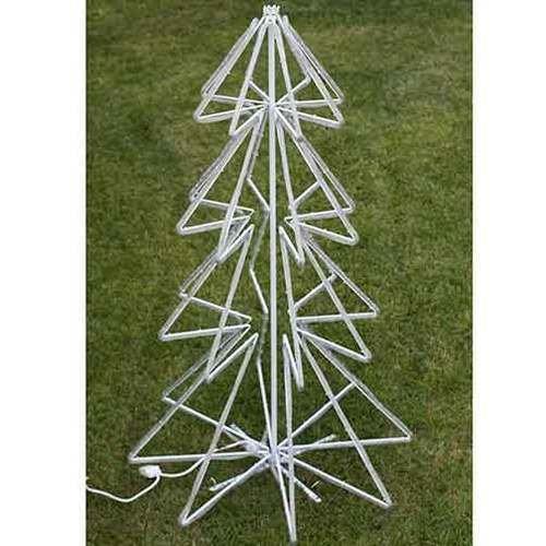2 LED Rope Light Christmas Tree Motifs ((2X) Cool White)