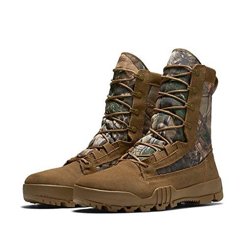 Nike Mens SFB 8'' Jungle RealTree Boot Coyoye/Coyote 845168-990 (12 M US) by NIKE