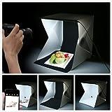 SHOPEE Light Room Mini Photo Studio 9' Photography Lighting Tent Kit Backdrop Cube Box