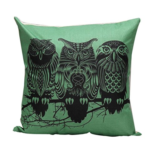 Hatop Home Decor Pillow Case Sofa Waist Throw Cushion Cover Home Decor (L) (Marilyn Monroe White Dress Pattern)