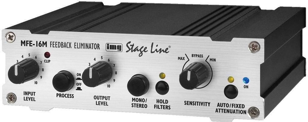 IMG STAGELINE MFE-16M Stereo DSP-Feedback-Controller MONACOR INTERNATIONAL 25.3330 IMG STAGELINE MFE-16M - Stereo-DSP-Feedback-Controller