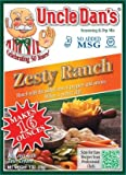 dry fruit packets - Uncle Dan's Dips, Seasonings and Salad Dressings Mix Packets - Zesty Ranch - For the Perfect Homemade Flavor in Your Dry Rubs, Pasta Sauces & Marinades - 1 Packet