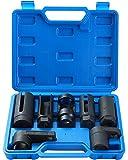 DASBET 7pcs O2 Oxygen Sensor & Oil Pressure Sending Unit Master Sensor Socket Set
