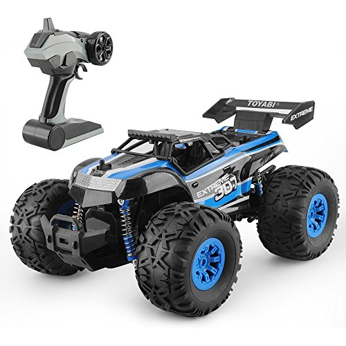 RC Car Toys, Remote Control Monster Truck with 2.4GHz Radio Controlled Vehice Remote Control Car for Kids and Adults