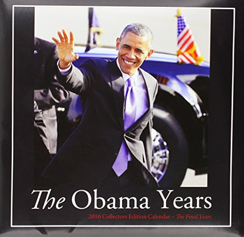 "Shades of Color 2016 The Obama Years African American Calendar, 12""x12"" (16OB)"