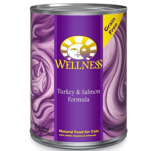 Wellness Natural Grain Free Wet Canned Cat Food Turkey