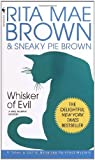 Front cover for the book Whisker of Evil by Rita Mae Brown
