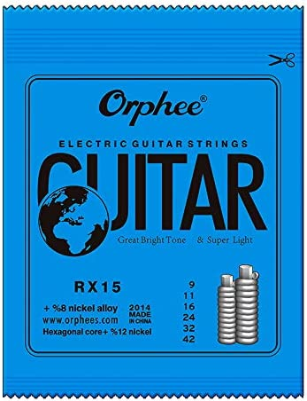 6 cuerdas para guitarra eléctrica RX15/RX17/RX19 cuerdas para ...