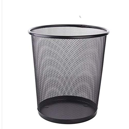 Ping Bu Qing Yun Trash Can Creative Barbed Wire Design Living Room Kitchen Bathroom Office Trash Can Trash Cans (Color : A, Size : B1)