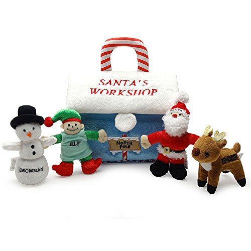 - Baby's My First Christmas Gift Santa's Workshop Playset