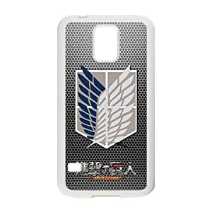 DAZHAHUI Attack On Titan Fashion Comstom Plastic case cover For Samsung Galaxy S5 BY RANDLE FRICK by heywan
