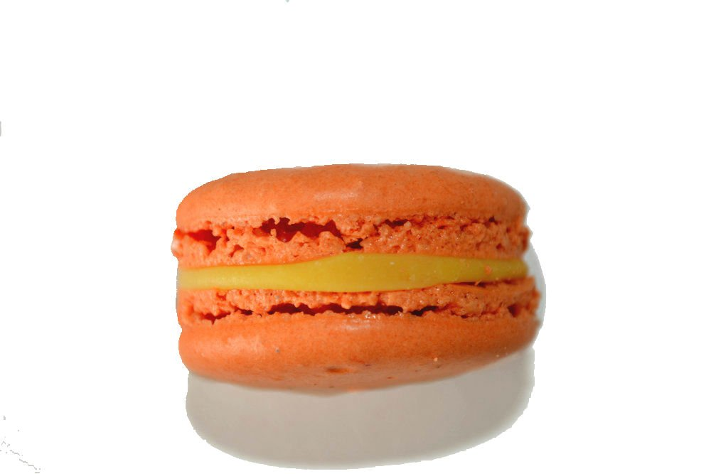 Authentic French Macarons - Passion Fruit - 96pcs