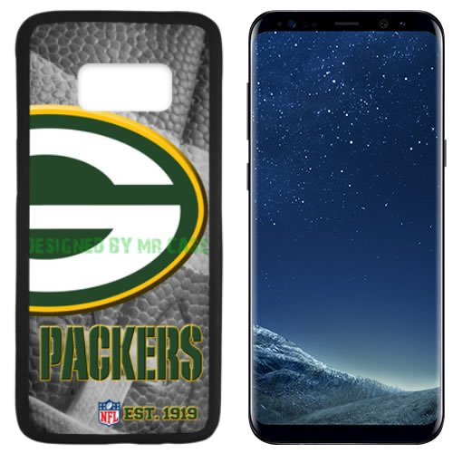 Packers Green Bay Football Black Samsung Galaxy S8 PLUS Case By Mr Case