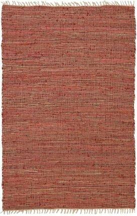 Cheap Matador Leather and Hemp Rug, 5 by 8-Feet, Copper